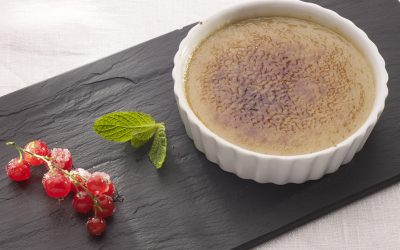Catalan Cream with Balsamic Vinegar and Vanilla