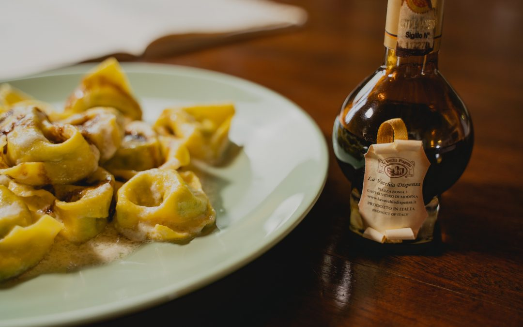 Grandma Clementina's Tortelloni with Balsamic Vinegar